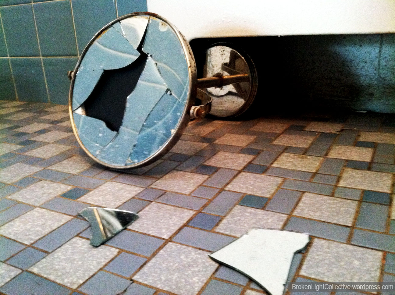 Broken Broken Light A Photography Collective. Broken Bathroom Mirror