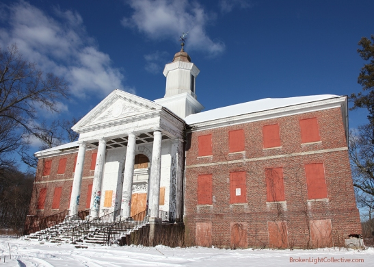 Abandoned Metropolitan State Mental Hospital Building